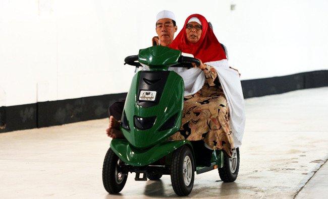 Motor Listrik di Masjidil Haram