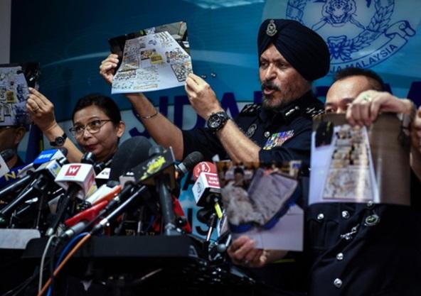 Amar Singh, Kepolisian Malaysia