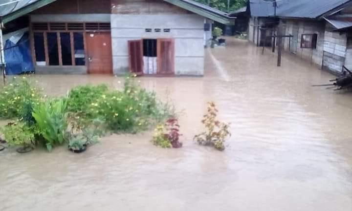 Banjir di Padang Sidimpuan